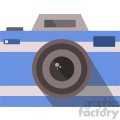 blue vector camera icon