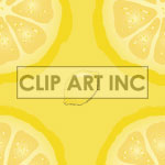 Lemon tiled background
