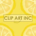 Lemon tiled background