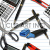 background backgrounds tiled bg supply supplies desk office scissor scissors calculator   103005-office-supplies backgrounds tiled