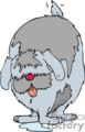 drooling sheepdog