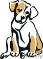 pet pets dog dogs puppies   animal_ss_c_024 clip art animals dogs  gif