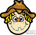 Cartoon scarecrow