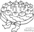 Spel240_bw vector clip art image