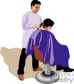 people working barbers barber beautician hairdresser   1004occupations029 clip art people  gif, jpg