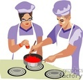 people working chef chefs cook cooking   1004occupations039 clip art people  gif, jpg