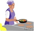 people working chefs chef cook cooking   1004occupations043 clip art people  gif, jpg