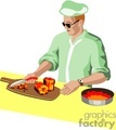 people working cooking chef chefs cook   1004occupations051 clip art people  gif, jpg
