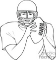 football footballs sports player players  sport039.gif clip art sports football  gif, jpg, eps