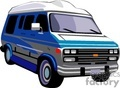 truck trucks autos vehicles van vans   transportation055 clip art transportation land