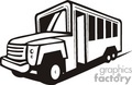 truck trucks autos vehicles bus buses   transportationss0024b clip art transportation land  gif, jpg