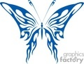 tribal blue butterfly gif, jpg, eps