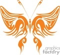 orange butterfly clipt art gif, jpg, eps