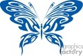 blue butterfly tattoo design gif, jpg, eps