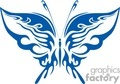 dark blue butterfly symbol