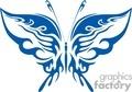 dark blue butterfly symbol