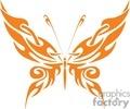 orange Buttefly tribilism