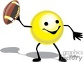 football sport sports player players smilie gif, png, jpg, eps