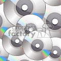 CD-ROM or DVD tiled background vector clip art image