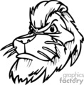 vector vinyl ready vinyl-ready signage logo logos mascot mascots designs black white clip art images graphics clipart art lion lions tattoo tattoos gif, png, jpg, eps