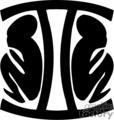Geminis  vector clip art image