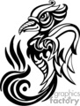 tribal drawing of a crow gif, png, jpg, eps