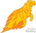 animal animals flame flames flaming fire vinyl-ready vinyl ready hot blazing blazin vector eps gif jpg png cutter signage tiger tigers orange gif, png, jpg, eps