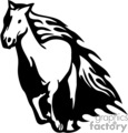 flaming horse gif, png, jpg, eps