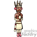 indian indians native americans western navajo doll dolls vector eps jpg png clipart people gif gif, png, jpg, eps