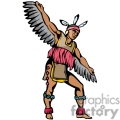 indian indians native americans western navajo tribe dancing vector eps jpg png clipart people gif gif, png, jpg, eps