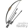 indian indians native americans western navajo weapon weapons bow and arrow vector eps jpg png clipart people gif gif, png, jpg, eps
