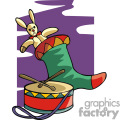 Snare drum and stocking