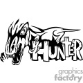 Dino hunter graphic