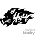 wild boar 4x4 graphic
