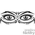 seductive female eyes