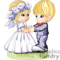 kids couple dressed for a wedding dancing gif, png, jpg, eps