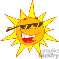 2741-Hot-Sun-Cartoon-Character