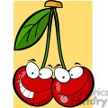 2862-Red-Cherrys-Cartoon-Characters