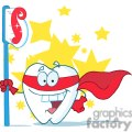 2978-Smiling-Superhero-Tooth-With-Toothbrush