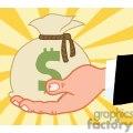 2822-bussines-hand-holding-money-bag  gif, png, jpg, eps, svg, pdf