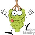 2869-Funny-Grapes-Cartoon-Character