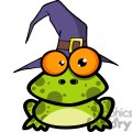 3221-frog-with-a-witch-hat  gif, png, jpg, eps, svg, pdf