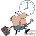 3252-African-American-Businessman-Being-Late
