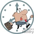 3254-African-American-Businessman-Being-Late