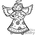 christmas angel holding a star gif, png, jpg, eps, svg, pdf