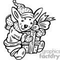 christmas animals gif, png, jpg, eps, svg, pdf