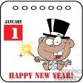 3736-New-Year-Baby-Cartoon-Callendar