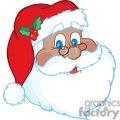 Classic Santa Claus Face