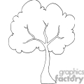 tree outline gif, png, jpg, eps, svg, pdf
