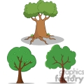 cartoon trees gif, png, jpg, eps, svg, pdf